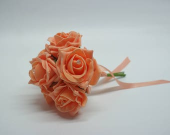 Wedding Posy - Perfect for Bridesmaids ( Apricot )