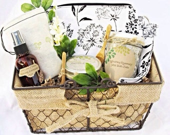 Anniversay Gifts, Spa Gift Set, Stress Relief, New Mom Gift, Coworker Gift, Gift Basket, Mom Gift, New Mom Gift Basket, Spa Gift Basket