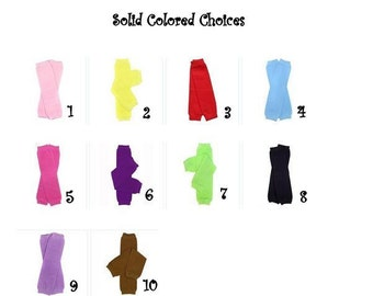 Solid Leg Warmers (More Color Options)