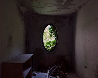 Abandoned photography, urban exploration, urbex