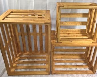 Wood Storage Crates