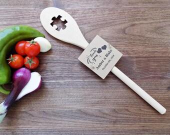 Puzzle Wedding Favor Puzzle Wooden Spoon Puzzle Party Favor Puzzle Bridal Shower Favor Rustic Wedding Favors Wooden Spoon Favor