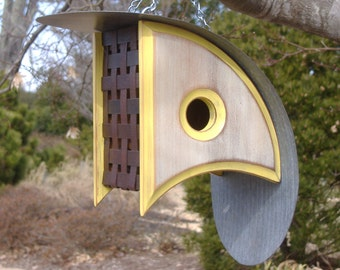 Modern Bird houses | Birdhouse with a View | Bird House