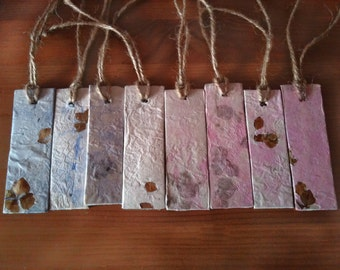 Set of 8 gift tags