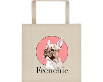 Frenchie Tote bag by Bnvdo