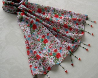 Scarf pin / scarf jewel REF. 197 - floral