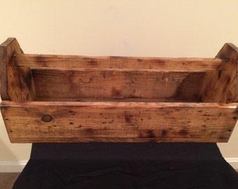 Handmade Rustic Toolbox - Large