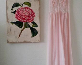 Vintage Pink Princess Gown