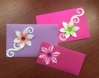 Personalized set of 12 envelopes (Bridal shower, baby shower, wedding etc.)