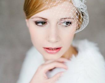 "Wedding handmade Bridal Birdcage with crystal stones - ""Sophie"""