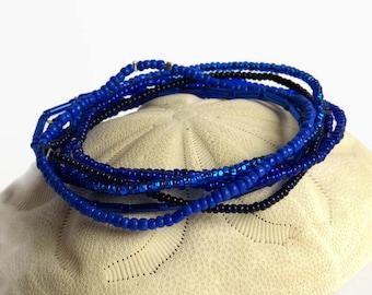 Boho bracelet, seed beads bracelet, bohemian jewelry, stretch bracelet, baby shower gift, stack bracelet, everyday jewelry, Hanukkah gift