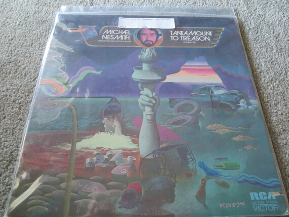 David Jones Personal Collection Record Album - Michael Nesmith - Tantamount To Treason (Volume One)