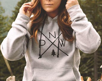 The Original PNW Pride Hoodie - Available in 3 Colors - Perfect for cozying up on those cold PNW mornings