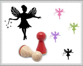 Rubber stamp FAIRY Ø 15 mm