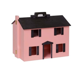 Wooden Folding Dollhouse