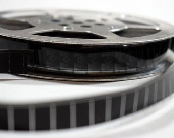 Vintage 16mm film strip / Strips Cuttings for Projects Arts Crafts / Home decor / Price for 10 yards