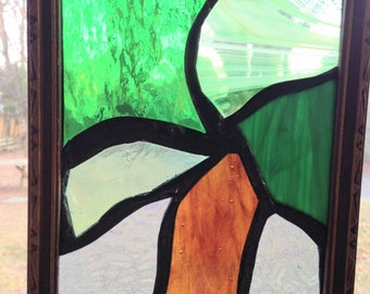Tree Stained Glass