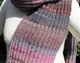 scarf unisex gray rose (2)