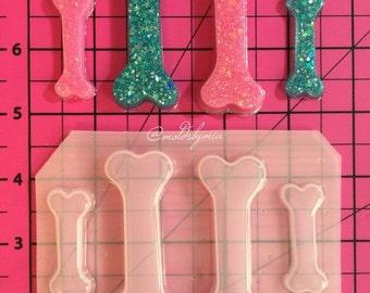ON SALE MoldsbyMia cutie bones flexible plastic resin mold