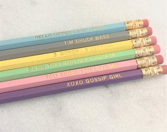 You Know You Love Me Pencil Set