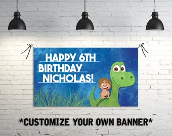 The Good Dinosaur Birthday Party Banner