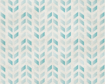 Blue Herringbone Photo Backdrop