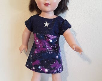 18 Inch Girl Doll Galaxy Dress #165
