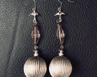 Handmade Earrings Made from Vintage Beads