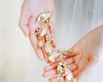 Hochzeit Kopfschmuck Haarkranz Strass Perle Kristall-Haar Kamm