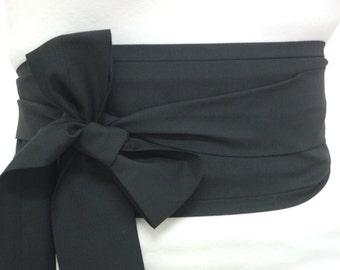 Geisha costume Japan obi belt - Japanese kimono sash belt - wrap around belt with ties