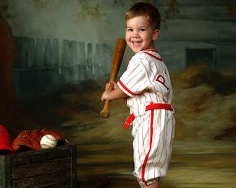 Childrens Baseball Uniform