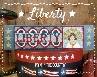 Liberty Punch Needle Pattern