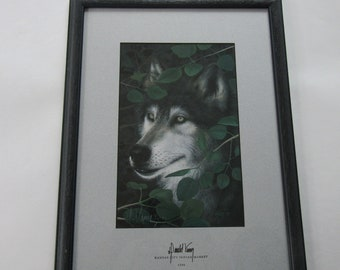Donald Vann's Watchful Eyes Numbered and Signed Print