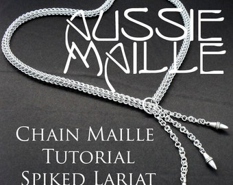 Chainmaille Tutorial - Spiked Persian Lariat