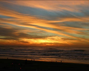 Poster, Many Sizes Available; Ocean Beach Sunset Fall 2007 #031215