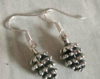 Pine Cone Earrings, Woodland Earrings, Autumn Earrings, Nature Earrings
