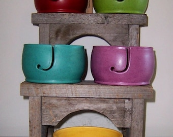 Large Yarn Bowl - Your color choice