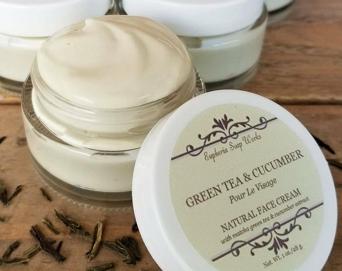 Green Tea & Cucumber Natural Face Cream