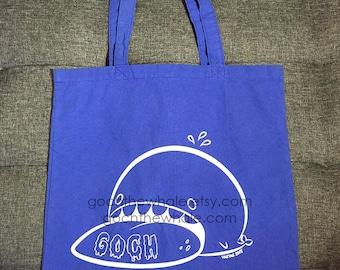 Goch the Whale Bag