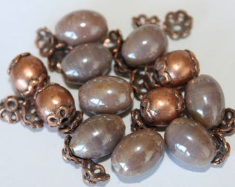 No. 003 findings + 10 * 12 mm glass bead