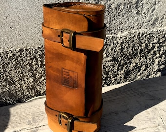 Motorcycle Leather tool bag