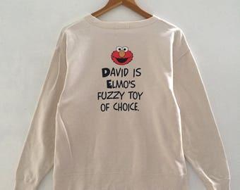 RARE!!! Sesame Street Sweatshirt Vintage