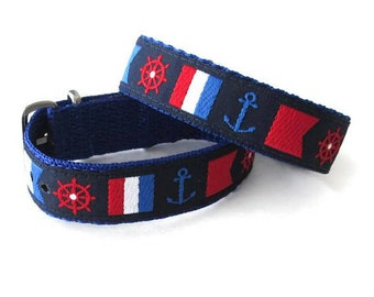 SALE! Timex Weekender Replacement 16 mm or 20mm Watch Band, Nautical Flag Strap, SALE!