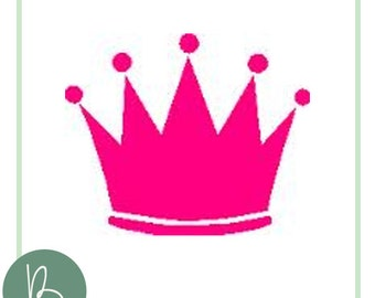 Princess Crown SVG File