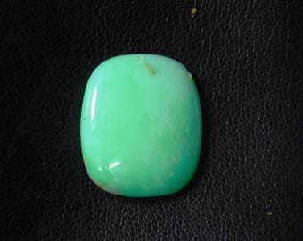 Royal Chrysoprase Loose Gemstone, A+++ Natural Chrysoprase Cabochon Gemstone, Chrysoprase gemstone, Chrysoprase loose stone 24 Cts. R-3743