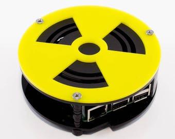 Puck Case for Raspberry Pi 3 Model B PI 2 AND PI B+
