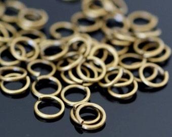 Sale 500pcs Antique Bronze Jumprings 4mm