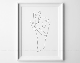Line Drawing Holding Hands : Line drawings etsy