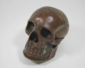 Wooden Skull (1170-L-G01)