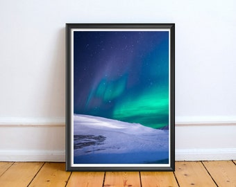 Northern Light Photo,Digital,Download,Decor,Home,Office,Tropical,,Turquoise,,Gift,Baby Shower,Gift,lack,Green,Planet,Baby shower,Blue,Sky